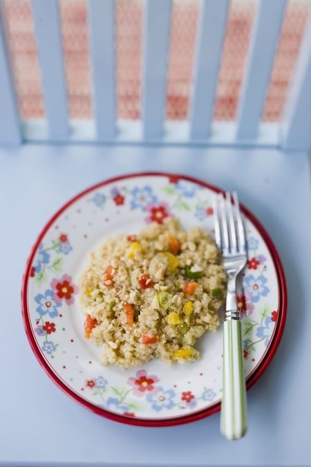 Asian Quinoa Salad Recipe