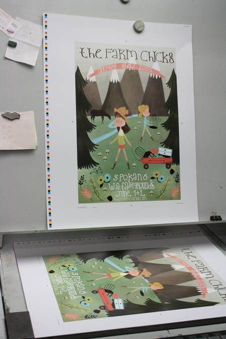 Poster Printing at Hearn Brothers Printshop
