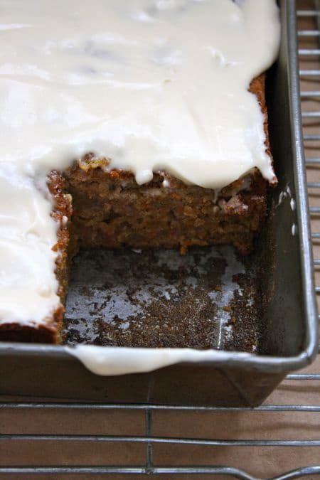 Lowfat Carrot Cake