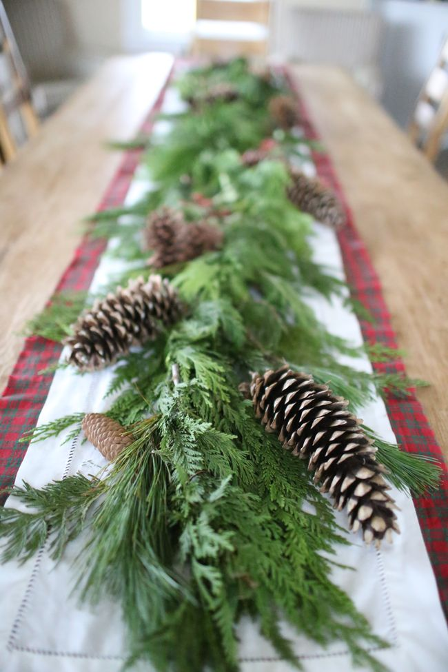 How To Make A Christmas Tablescape The Farm Chicks