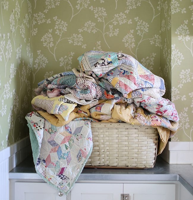 How to Clean Vintage Quilts