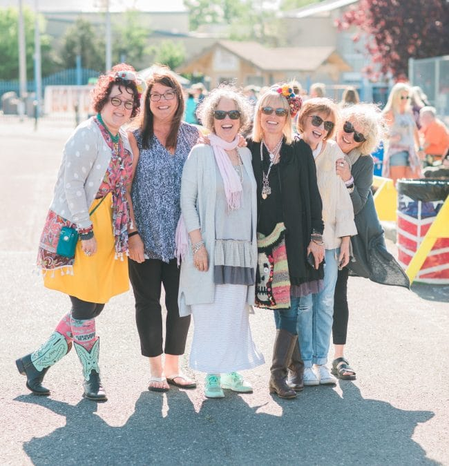 Spotlight on the Shoppers at The Farm Chicks Fair
