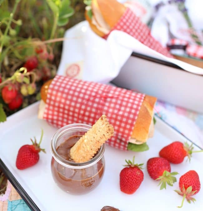 Plans and Recipes for a Strawberry Picking Picnic