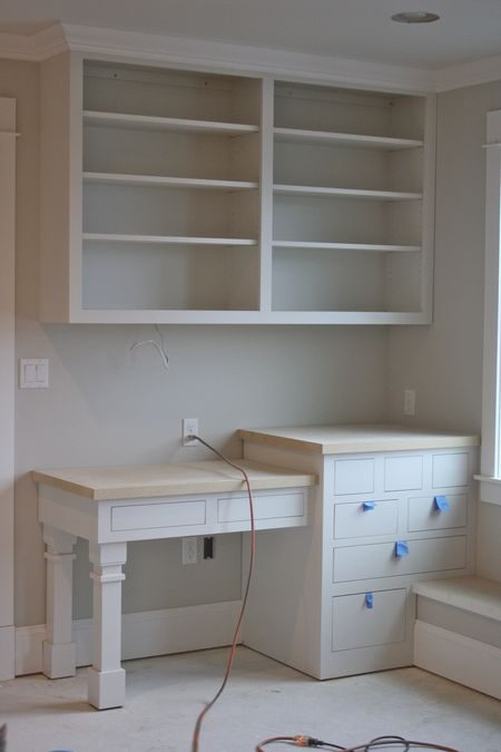 Classic Farmhouse Built-Ins