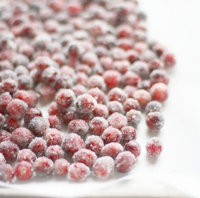 Sugared / Candied Cranberries Recipe
