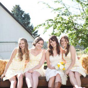 A Farm Chicks Style Wedding