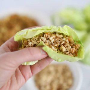 Asian Quinoa Lettuce Wraps Recipe