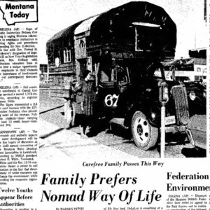 My Family – the 1970's Nomads