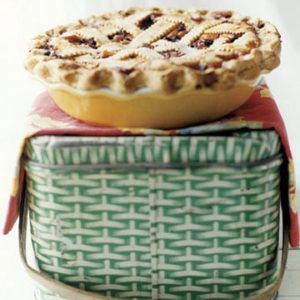 Huckleberry Peach Pie Recipe