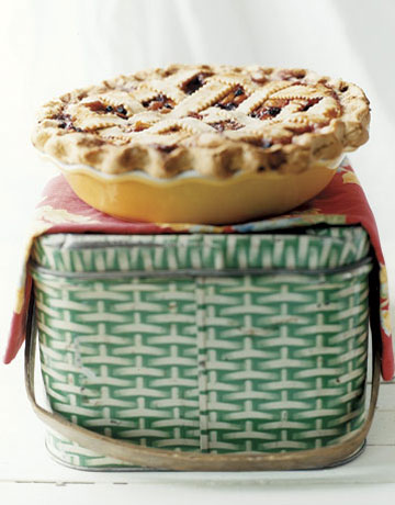 Huckleberry Peach Pie Recipe