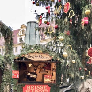 The Christmas Market at Thurn & Taxis Palace in Regensburg