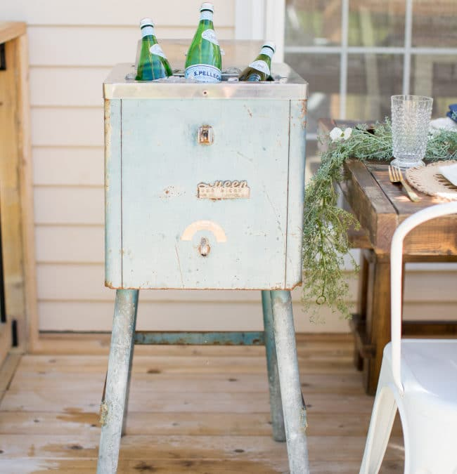 What You Found! Shannon's Vintage Ice Machine