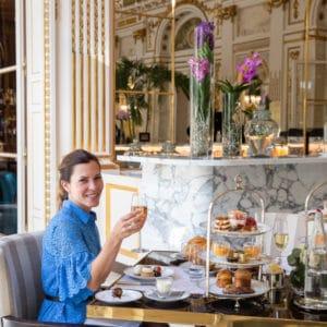 Afternoon Tea at the Peninsula Paris Hotel
