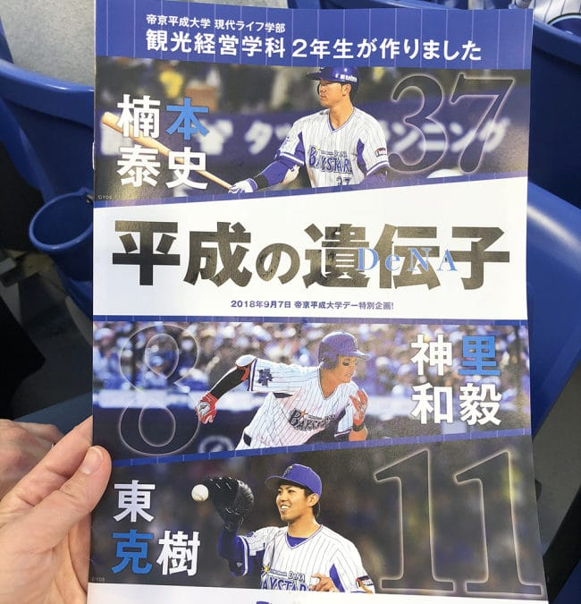 Visiting a Japanese Baseball Game