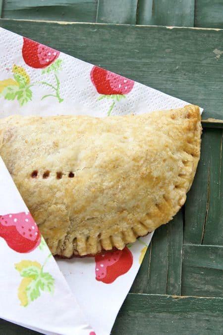 Handheld Strawberry Picnic Pies