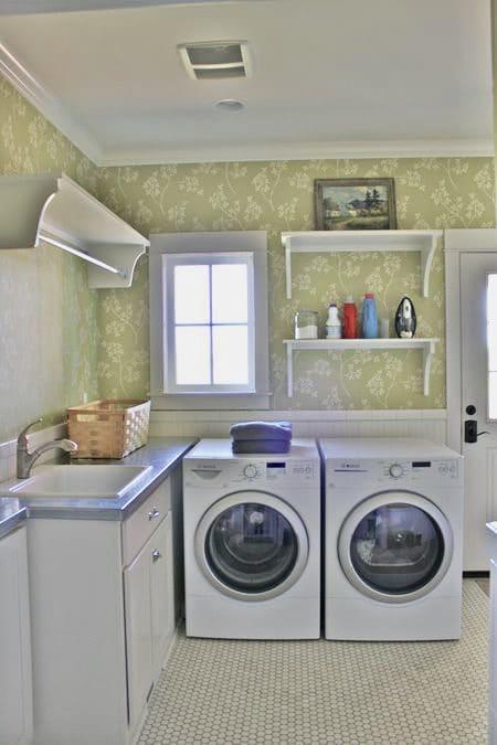 My Farmhouse Laundry & Mudroom