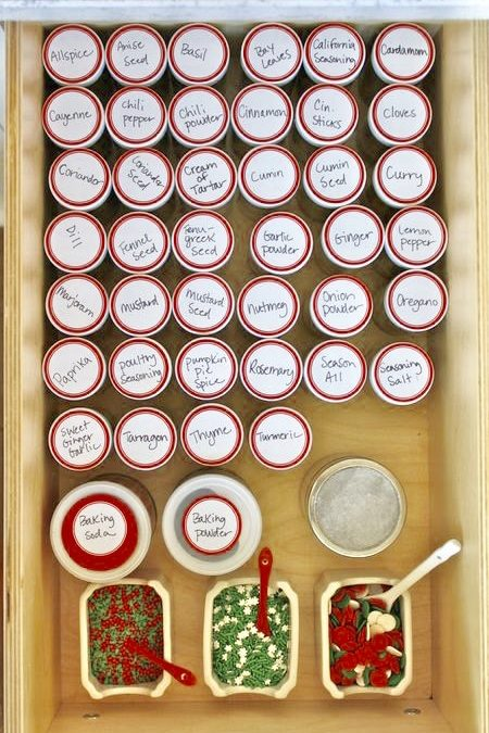 The Holiday Spice Drawer