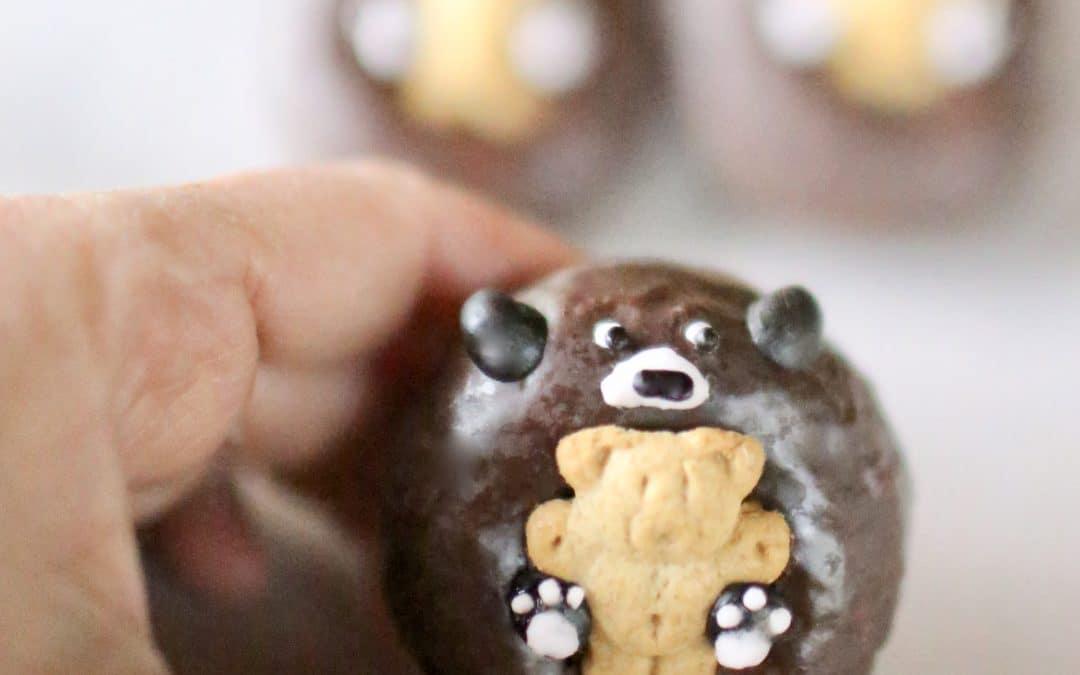 Mini Mama Bear Donut Valentines