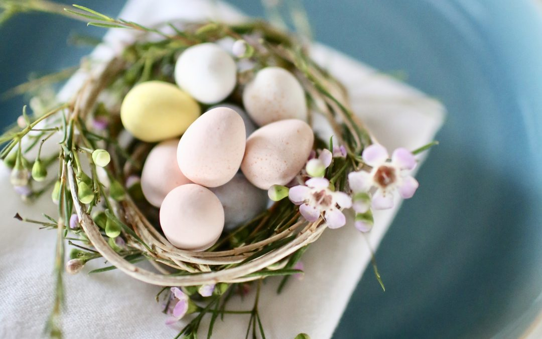 Easter Table Decoration Nests