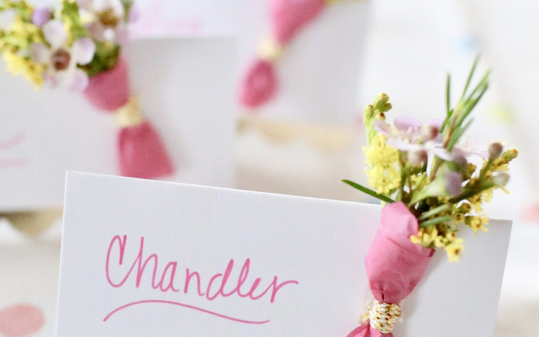 Easter Table Place Marker Cards