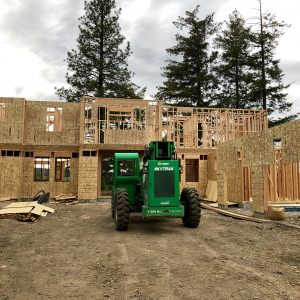 House Update – Floors, Walls, and Trusses