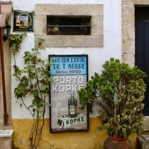 Vintage Inspiration in Obidos, Portugal